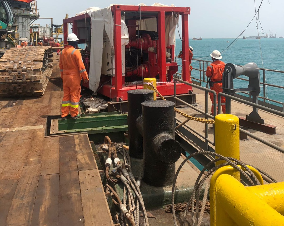 Bahrain LNG Terminal - GS Engineering & Construction - Blue Offshore